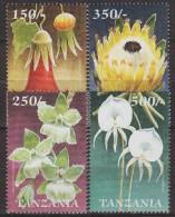 Tanzania.1999.4v.Michel.3727-30.MNH.21357