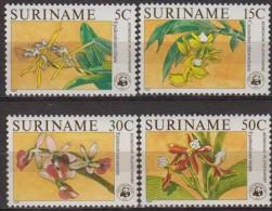 Suriname.1986.4v.Michel.1166-69.MNH.21358
