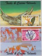 Tutks Caicos.1995.2 Sheets.2v.Michel.143-44.MNH.21361