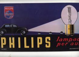 X TARGA TABELLA IN METALLO PLAQUE SIGNE PHILIPS,FIAT 500C TOPOLINO ALFA ROMEO Hachette - Enameled Signs (after1960)