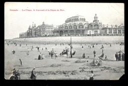 Ostende. La Plage, Le Kursaal Et La Digue De Mer / Postcard Not Circulated - Oostende