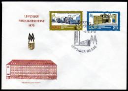 DDR 1973 - Leipziger Frühjahrsmesse - FDC - Landwirtschaft