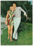 Couple Old Postcard Ca 1970´s Unused Bb - Coppie