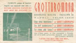 """NAPOLI  /  Biglietto Pubblicitario valido per ritiro foto del Fotografo """" BARBATO Ciro """""""