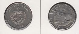 1984-MN-103 CUBA UNC  1984 1$ CU-NI KM142. CASTILLO DE LA FUERZA. LA HABANA - Cuba