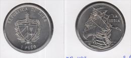 1994-MN-101 CUBA UNC  1994 1$ CU-NI KM465. LA INDIA SHIP. BARCO. - Cuba