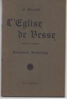 J. BLOT L´Eglise De BESSE (Puy De Dôme) Monument Historique - Auvergne