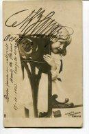 "AUTOGRAFO DÉDICACÉ AUTOGRAPHED ""MANUEL BARRAZA"" ARGENTINIAN SAILOR MARINO ORIGINAL SIGNATURE CIRCULEE 1903  GECKO - Autographs"