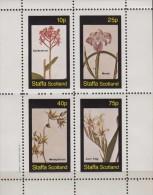 Staffa (Scotland).1982.Sheet.I. 4v.MNH.21375