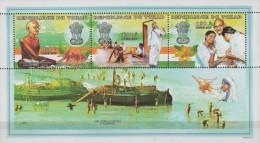 Tchad.1998. Sheet.3v.Michel.1643-45.MNH.21380