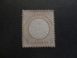 Deutsches Reich 1872 / Adler Mit Grossem Brustschild  / Wertangabe In Groschen - Germany