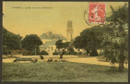 COGNAC Rare Colorisée Jardin De La Sous Préfecture (Dames De France) Charente (16) - Cognac