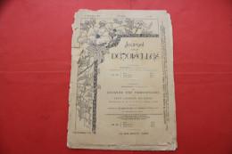 1er NOV 1897 JOURNAL DES DEMOISELLES ENLUMINURES Mode Travaux Lecture Réclames Faire Défiler Les Images De Cette Vente>> - 1850 - 1899
