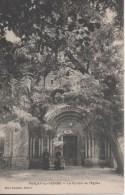 Parcay Sur Vienne Le Portail De L Eglise - Other Municipalities