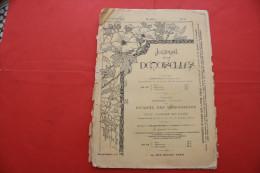 1er OCT 1897 JOURNAL DES DEMOISELLES ENLUMINURES Mode Travaux Lecture Réclames Faire Défiler Les Images De Cette Vente> - Newspapers