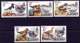Alderney MiNr. 13/17 **, Seevögel - Alderney