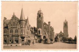 Warneton, Hotel De Ville Et Eglise (pk20310) - Comines-Warneton - Komen-Waasten