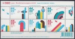 """Niederlande MiNr. Bl. 124 ** """"Voor Het Kind"""" : Laßt Kinder Lernen - 1980-... (Beatrix)"""