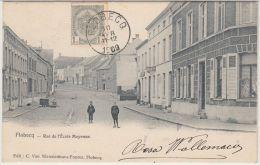 25087g  RUE De L'ECOLE MOYENNE - Flobecq - 1909 - Flobecq - Vloesberg