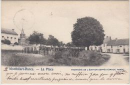 25120g  PLACE - VILLAGE - Montbliart-Rance - 1903 - Sivry-Rance