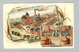 Motiv Bier Litho Ca. 1900 Ungebraucht Haggenmacher Sörgyarak - Hongrie