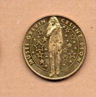 Monnaie Arthus Bertrand :  Musée Grévin - Celine Dion - Arthus Bertrand