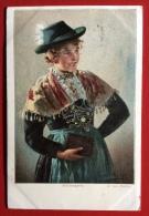 SALZBURGERIN  / GERMAN FOLKLORE S: E.VON MULLER. - Costumi
