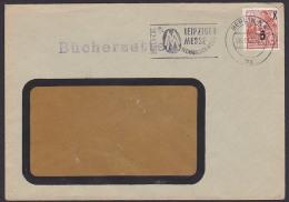 Bücherzettel BERLIN N4 Mi. 436 5 Auf 8 Pf  Abb. Karl-Marx Jugend Drucksache MWSt. Leipziger Messe - [6] Repubblica Democratica