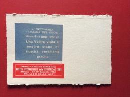 MILANO 1929 - SETTIMANA ITALIANA DEL CUOIO - Artigianato