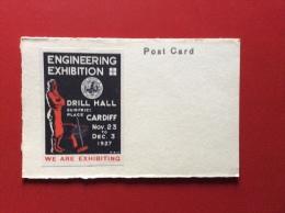 CARDIV - 1927 - ENGINEERING EXHIBITION - Artigianato