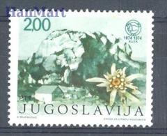 Yugoslavia 1974 Mi 1568 MNH - mountains, flowers