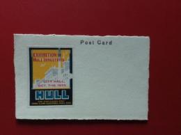 HULL 1933  -  EXHIBITION OF HULL INDUSTRIES - Artigianato