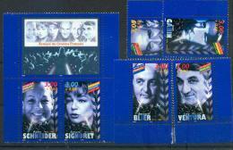 France 3187 3192 Acteurs De Cinéma De Carnet Avec Vignette 1998 Neuf ** TB MNH Faciale 3.3 - Frankreich