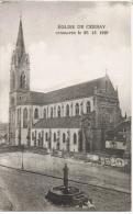 68-C8  - CPA EGLISE DE CERNAY Consacrée Le 26.12.1925 - Cernay