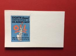 PHILADELPHIA 1931 - EIGHTH CONVENTION OIL BURNER SHOW - Artigianato