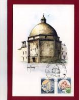 GIULIANOVA - TERAMO - IL DUOMO - ANNULLO FILATELICO 1987 - ILL.RE SANDRO MADONNA - Italia