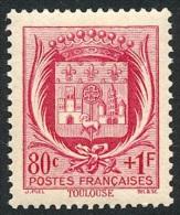 FRANCE 1941 - Yv. 530 *   Cote= 2,00 EUR - Armoiries : Toulouse ..Réf.FRA27430 - France