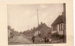 CPA - WALINCOURT (59) - La Rue De Cambrai - France