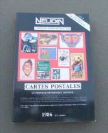 Catalogue Neudin De L´année 1986 - Books