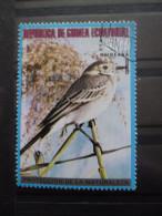 Guinée équatoriale OISEAU Oblitéré - Papegaaien, Parkieten