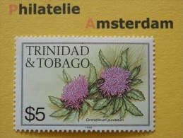 Trinidad & Tobago 1988, FLORA FLOWERS BLUMEN: Mi 493, type VI, **