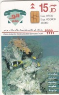 JORDAN - Undersea Treasure 2, tirage 40000, 03/98, used