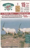 JORDAN - WWF/Animals, A Desert in Australia, tirage 5000, 05/02, used