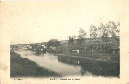 LUZY -  Bateau Sur  Le Canal - Autres Communes
