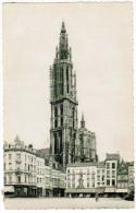 Antwerpen, Gilden Huizen Groote Markt En Kathedraal (pk20340) - Antwerpen