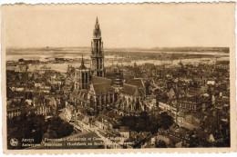 Antwerpen, Panorama Hoofdkerk En Bocht Van Austruweel (pk20341) - Antwerpen