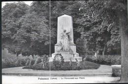 45, PUISEAUX, LE MONUMENT AUX MORTS,  2 SCANS - Puiseaux