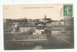 Cp , 78 , CONFLANS SAINTE HONORINE , Vue Générale , Voyagée 1909 - Conflans Saint Honorine