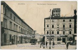 CARTOLINA VIA GARIBALDI PALAZZO PALOTTI BOLOGNA VIAGGIATA - Bologna