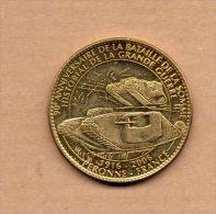 Monnaie Arthus Bertrand :  Historial De La Grande Guerre 90ème Anniversaire De La Bataille De La Somme  - Sans Date - Arthus Bertrand
